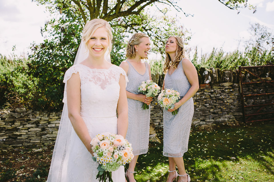 Rhian and her Bridesmaids - September 2015