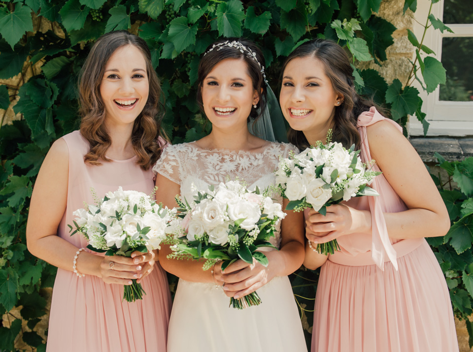 Katerina and her bridesmaids