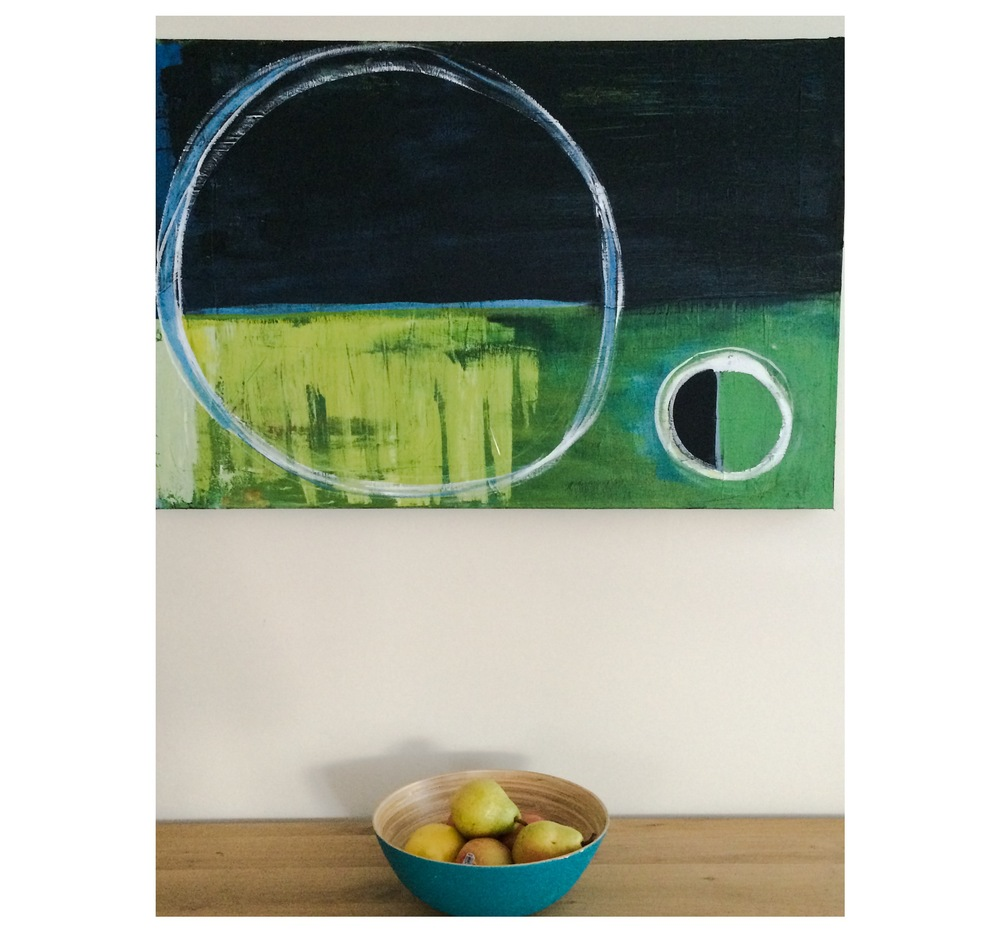 *Simple things*   Acrylic on Wood
