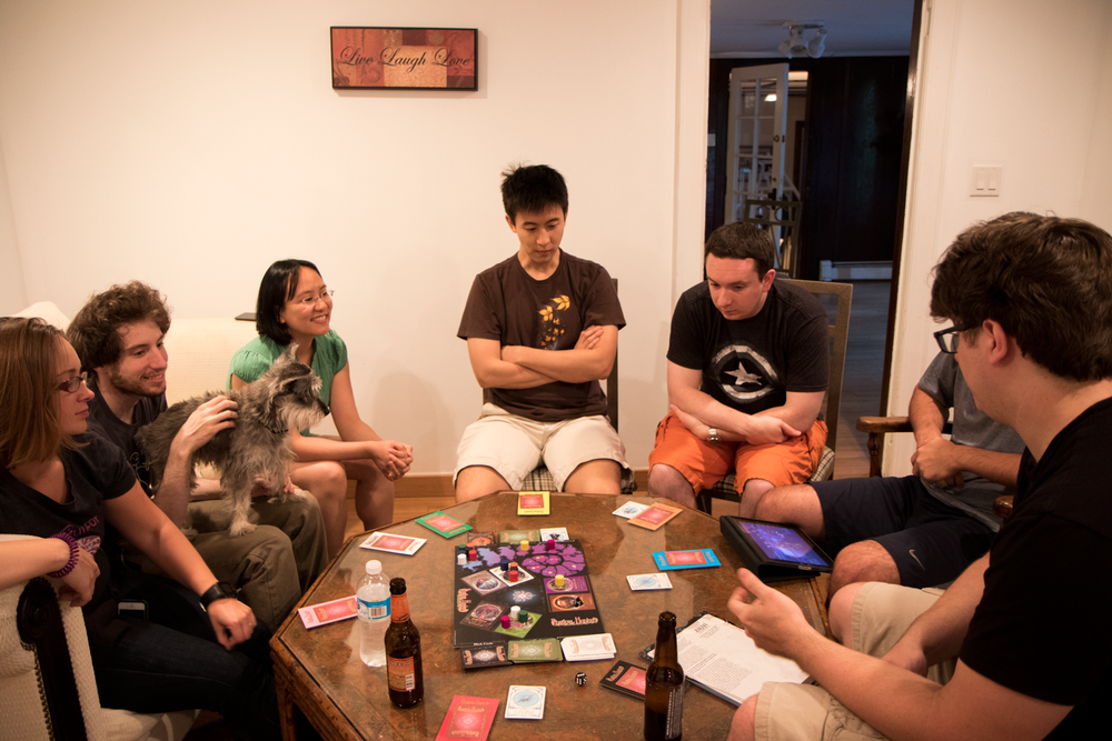 A heated game of shadow hunters