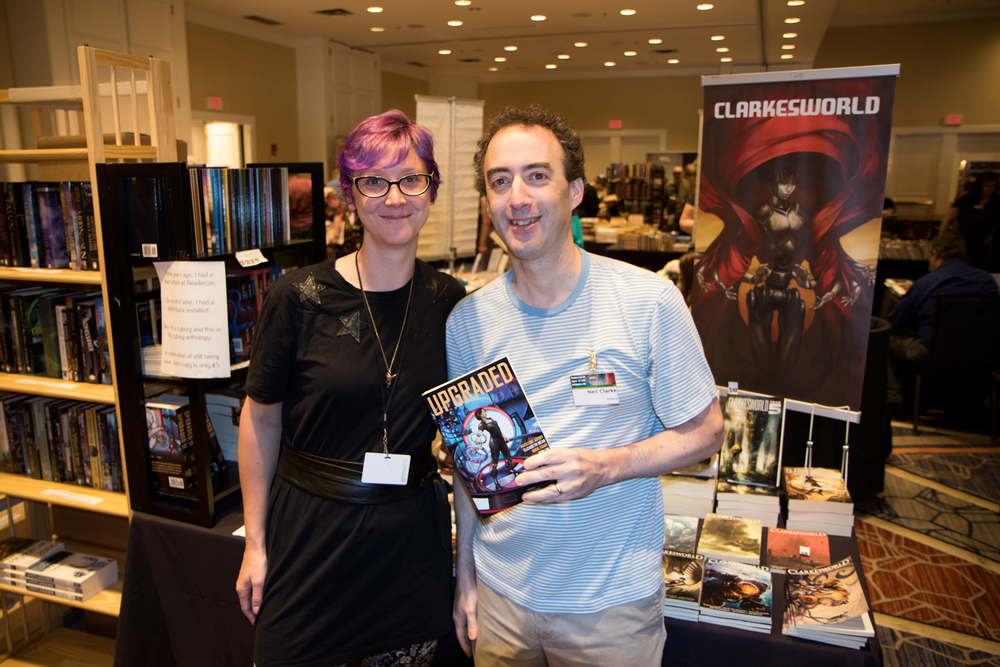 Margot and Neil Clarke at Readercon 2015