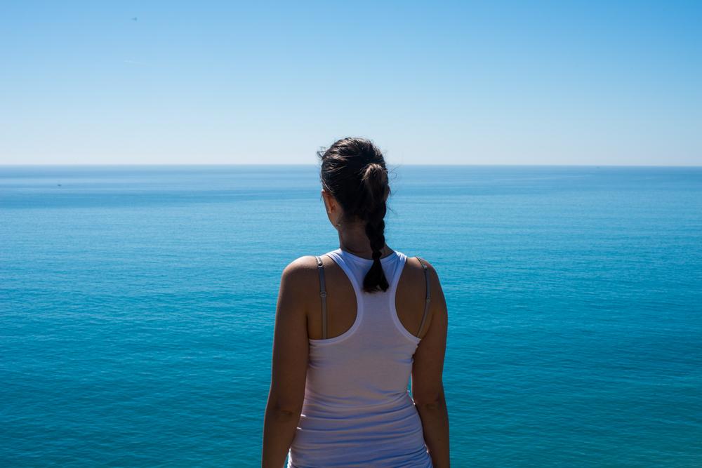 Kaska and the ocean