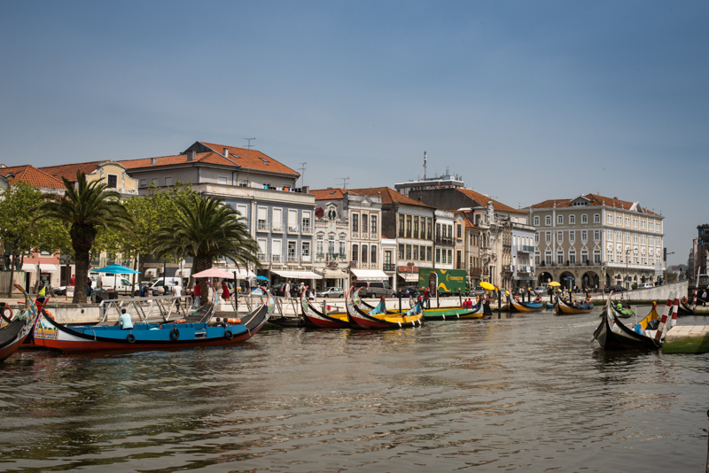 Day 3. No surf at Praia da Barra so we went sightseeing in Aveiro, a rather charming little city.