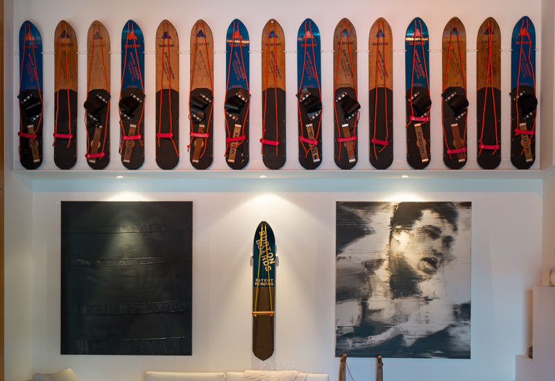 The prize of the vintage snowboard collection