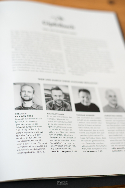 Oh hi! Page 1 of Bergwelten Magazine.