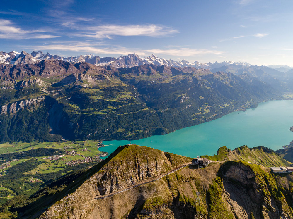 Brienzer Rothorn Aerial