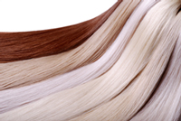 Natural Shades  Great Lengths offers over 40 vibrant natural shades to precisely match the color of your own hair. Strands are available in lengths from 8 inches to 24 inches. Accommodating an individual's hair density can be achieved by converting standard bonds to create fine, extra fine and custom sizes. Consult with a professional to decide whether a full head lengthening, volumizing,, highlighting or zonal volume application is right for you.