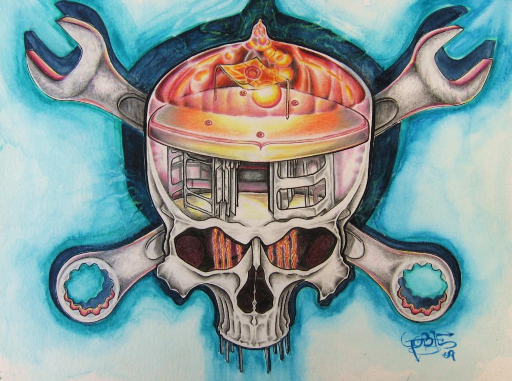 Tube Skull