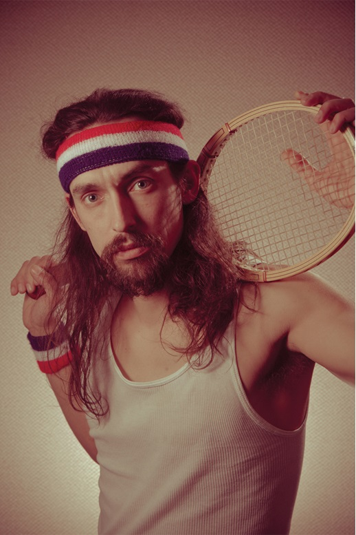 Who doesn't love tennis and 80s portraiture?