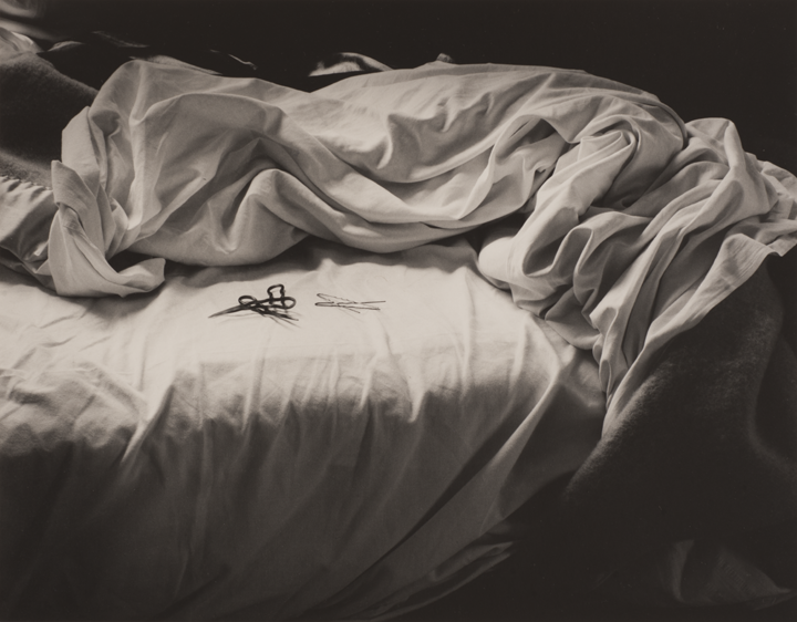 Imogen Cunningham (American, 1883–1976), The Unmade Bed. Gelatin-silver point, 1957. Purchased with funds given by an anonymous donor, 1976.136