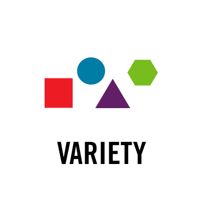 The gallery for --> Variety Principle Of Design