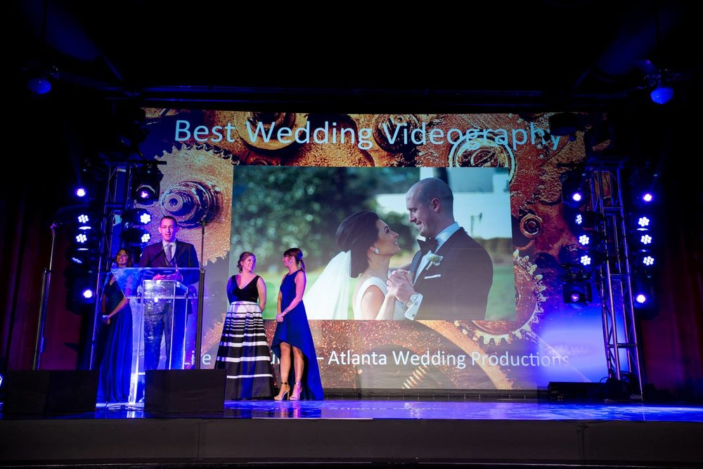 Best Wedding Videography - Atlanta Allie Awards