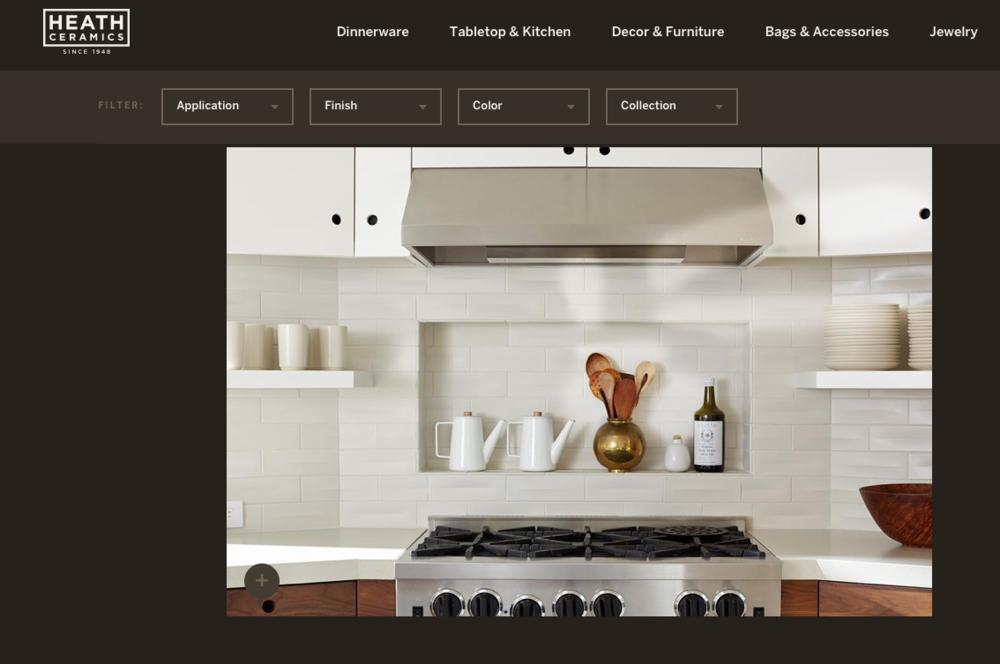 Kitchen Design by C&K as seen on Heath's Website