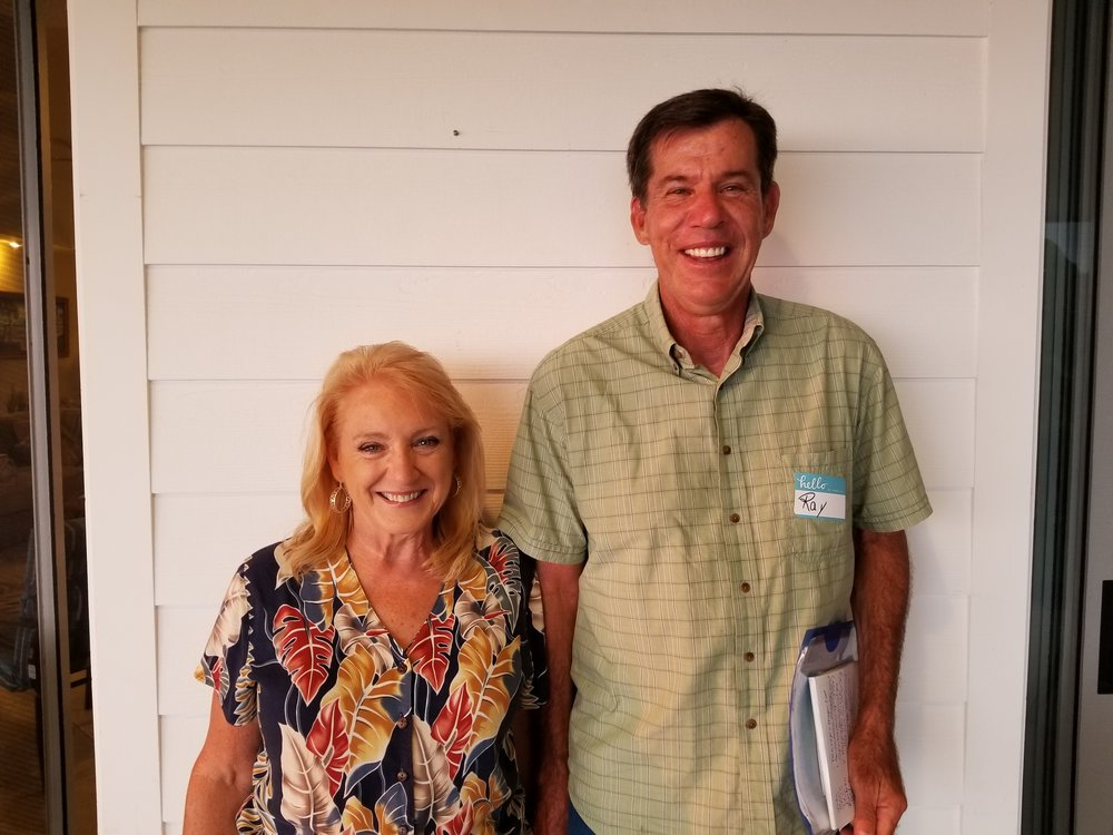 RAY & JEANETTE VATER - TUESDAYS 6:30PM         Sermon Discussion Group // Ali'i Church Nursery >> This Group is now FULL