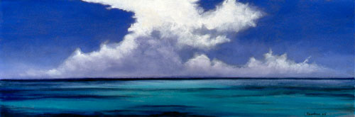 Clouds Over Turquoise