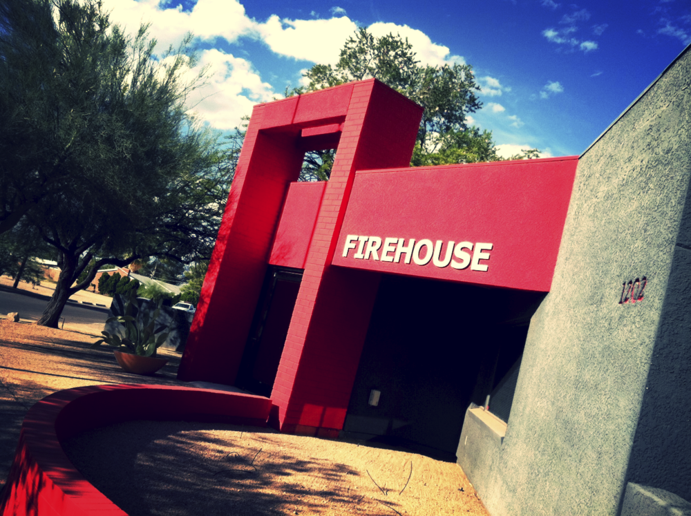Firehouse Pictures is located in an historic former fire station in central Tucson