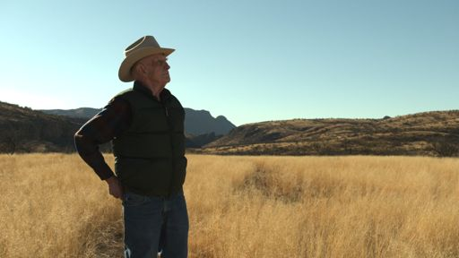David Lowell on his Atascosa Ranch near Nogales, Arizona