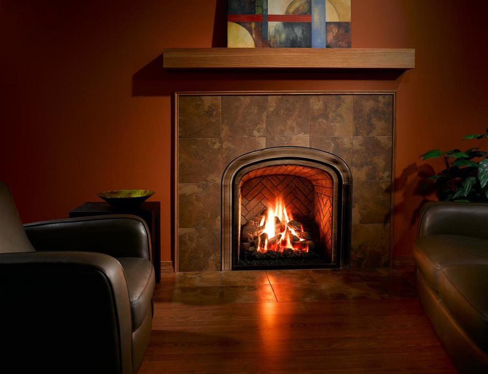 Mendota Greenbriar Gas Fireplace