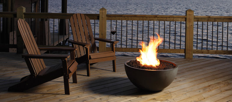 Marquis Bola Outdoor Gas Firebowl