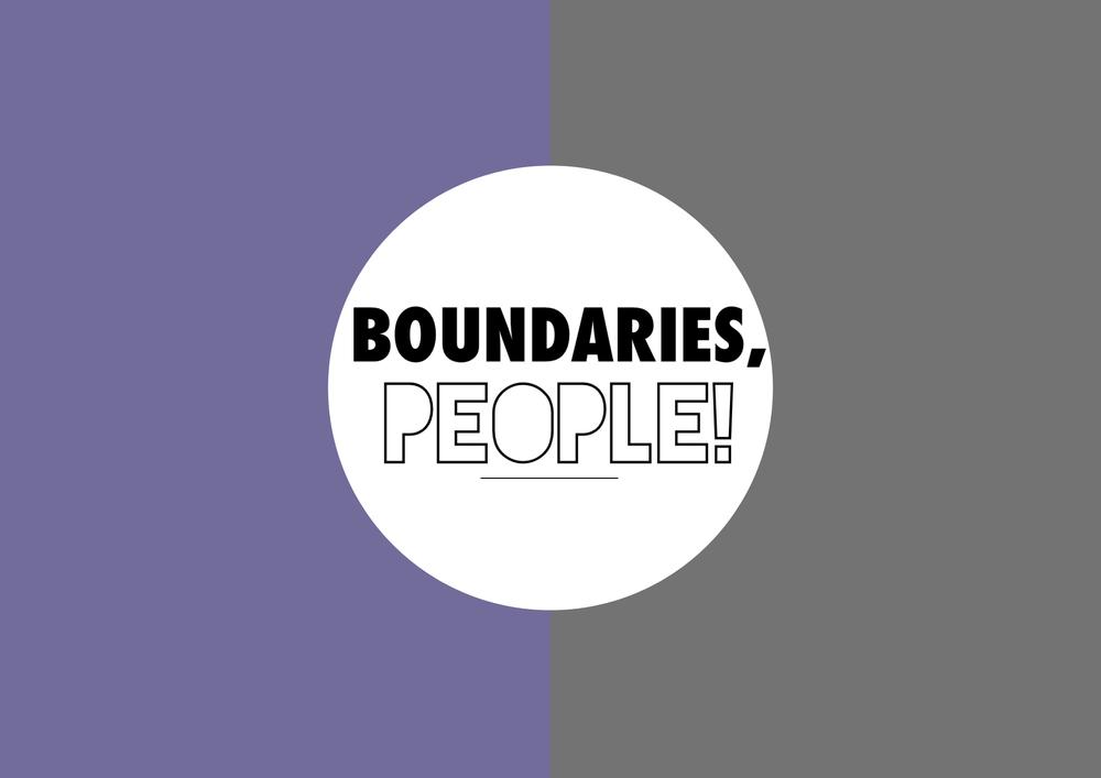 Boundaries!