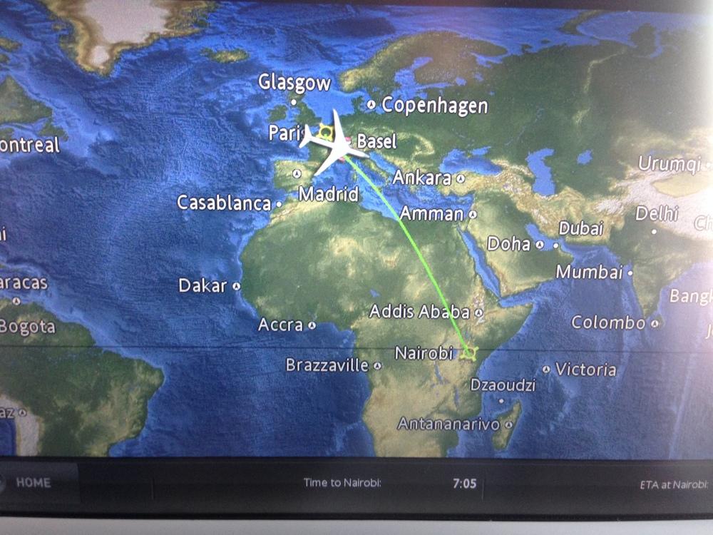Just soarin' over the Mediterranean Sea. No big deal...