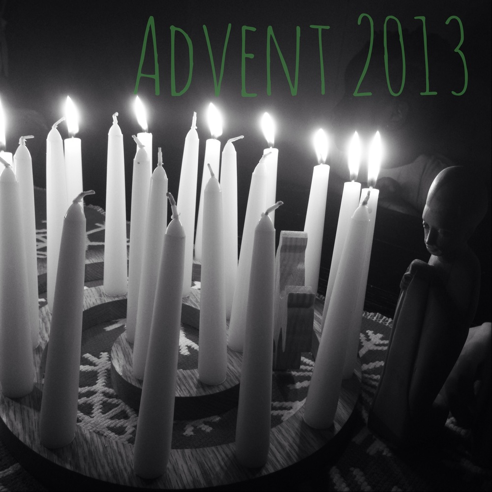 I got this Advent to Lent Ascension Wreath from Ann Voskamp's website.