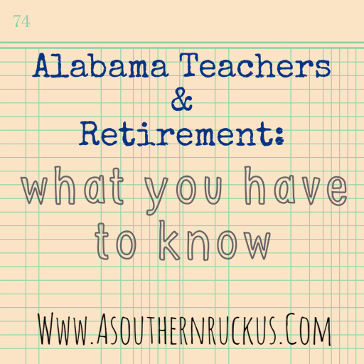 Alabama teachers and retirement