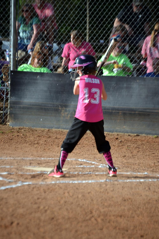 first softball game