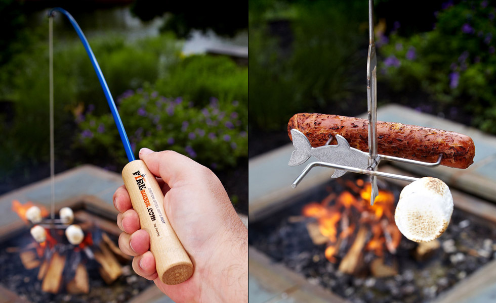 Campfire Fishing Rod!