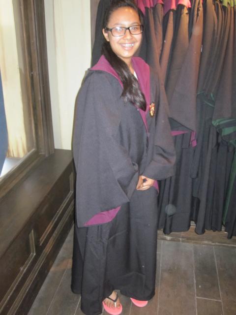 Robe wearing
