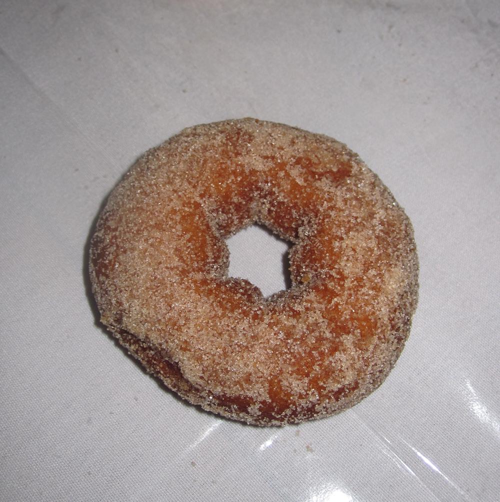 Pumpkin donut, dammit.