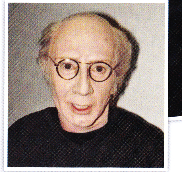 Martin Short in (insane) Larry David makeup