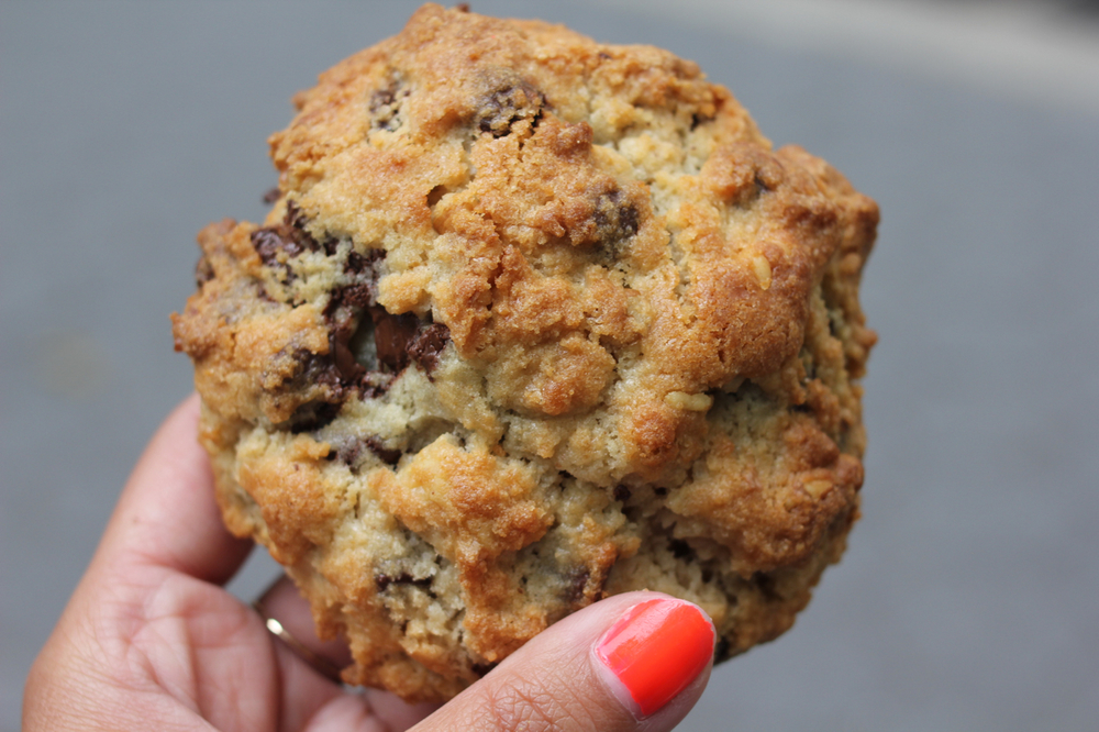 The Chocolate-Walnut Cookie at Levain Bakery