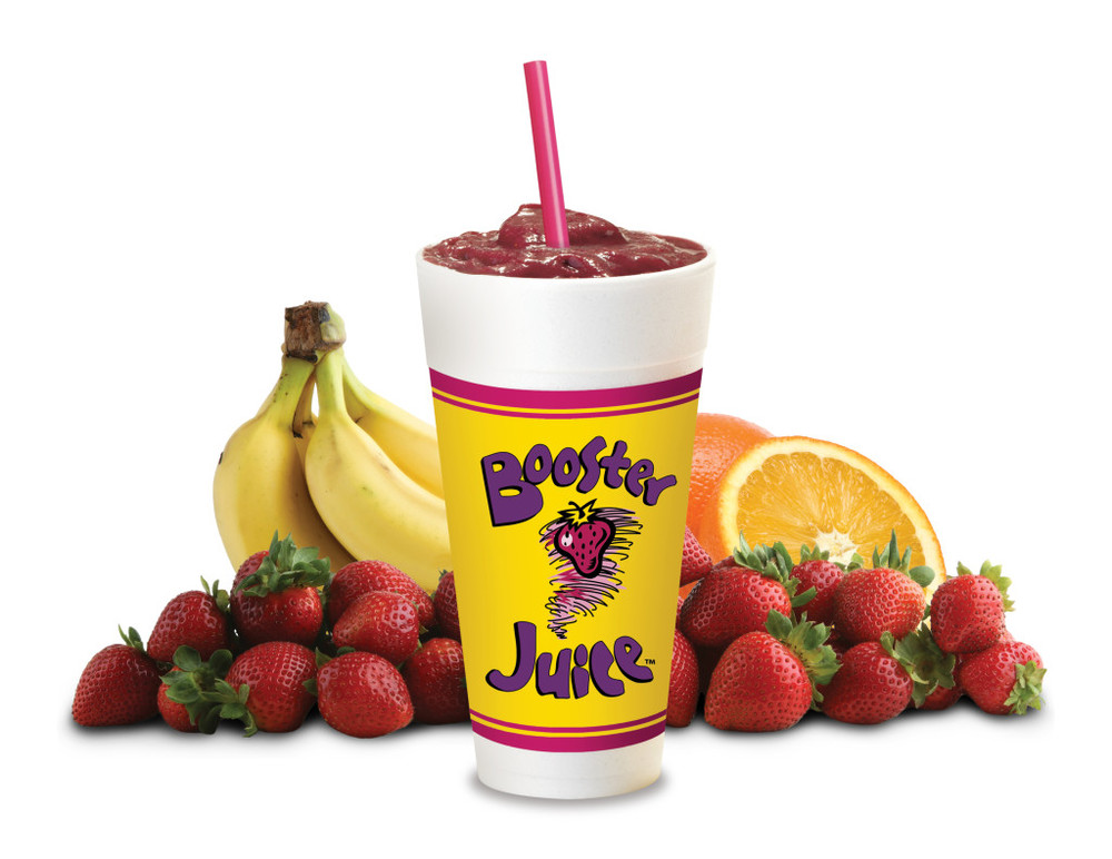 Photo Credit:  Booster Juice