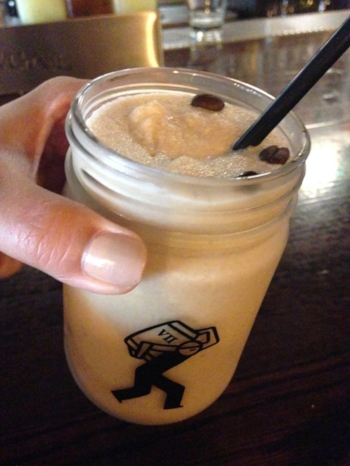 Frozen Irish Coffee at Passage in Astoria, Queens