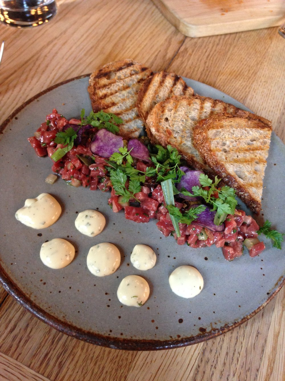 Wagyu Steak Tartare at The Dutch
