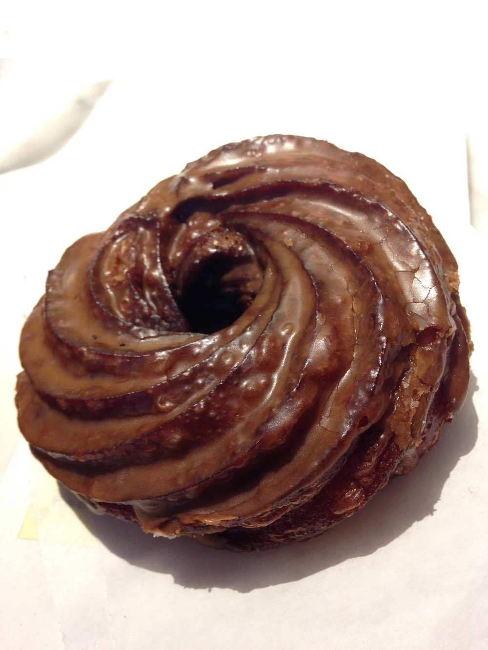 Maple Cruller from Daily Provisions, Union Square, New York City