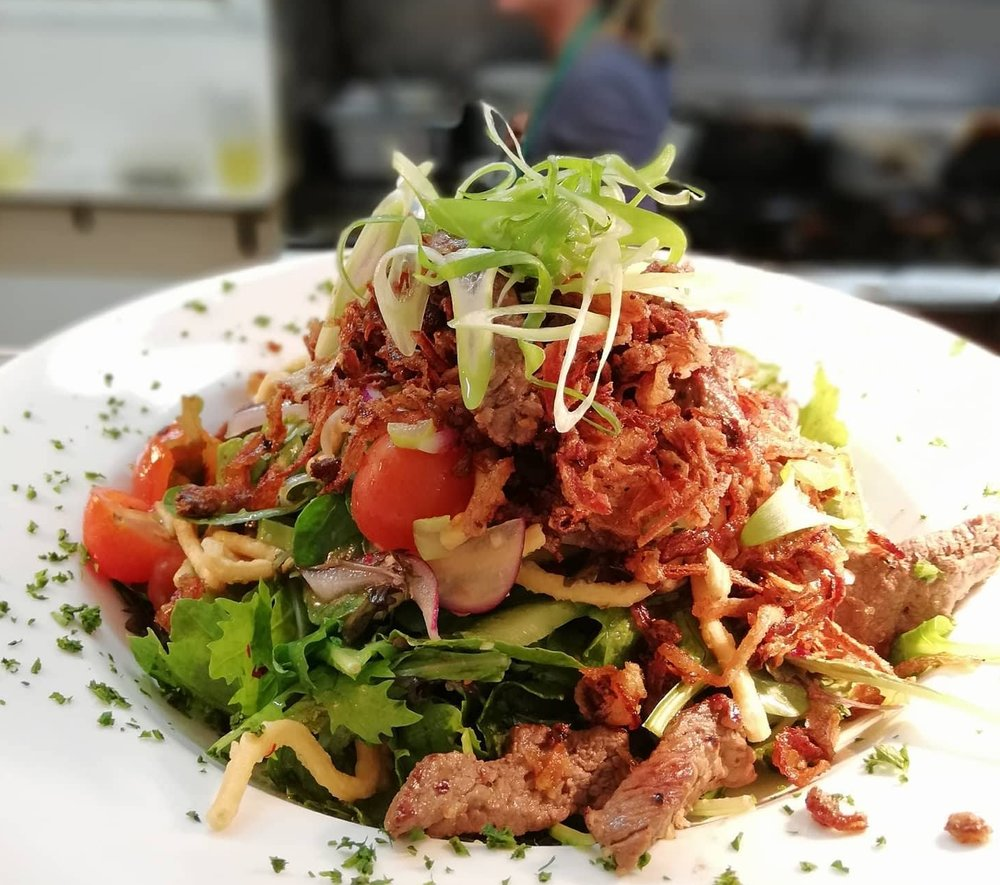 Thai beef salad -