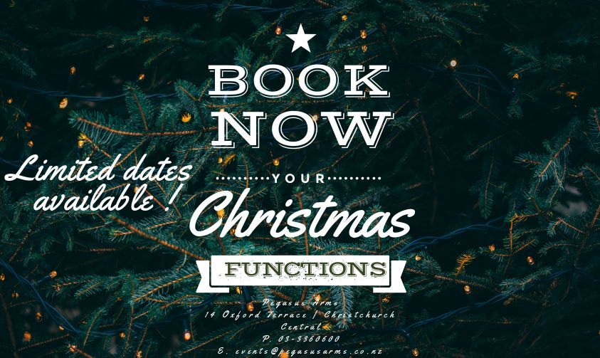 Book NOW ! - For more information on our function options see HERE
