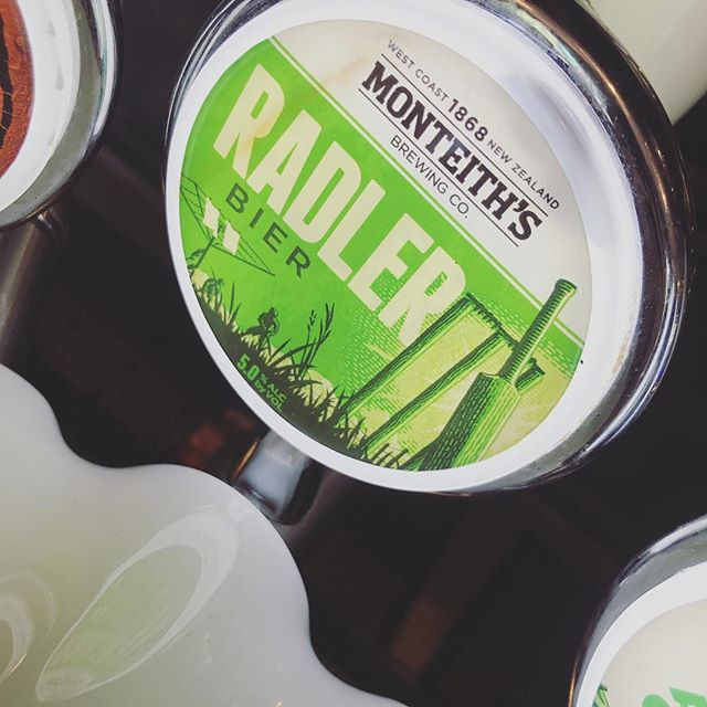 Radler from @monteithsbrewingco has joined the tap family today, perfect for these warm summer nights that we are all waiting for ! #summerlovin #radler #refreshing #beer #christchurch #newzealand #westcoast #pub #bar #restaurant