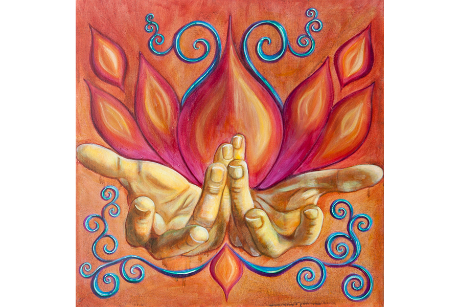 Abundance Mudra - Prints Available