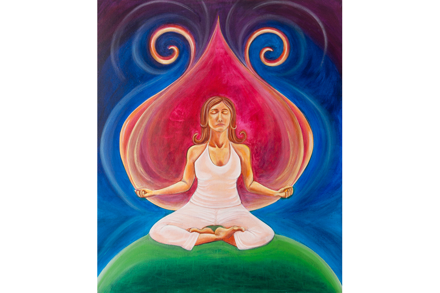 Meditation Magic - Original and Prints Available