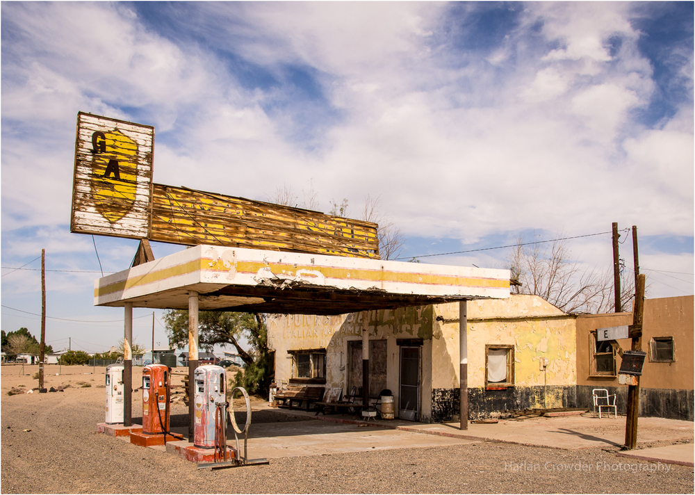 Route 66, near Barstow, California