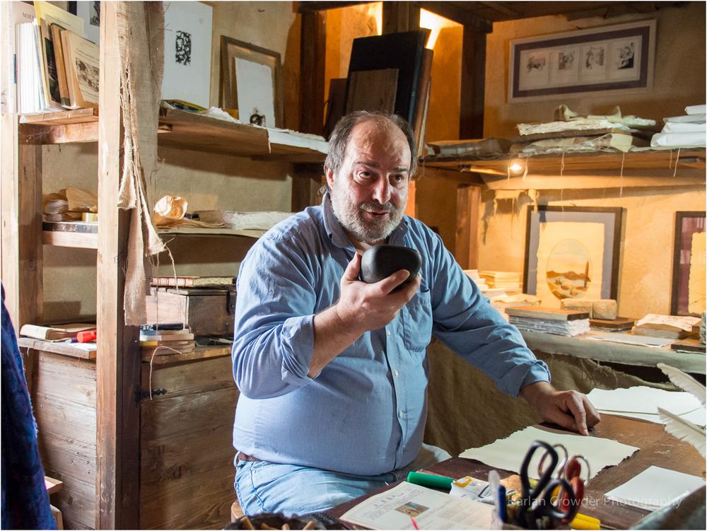Francesco Proietti, Papermaker