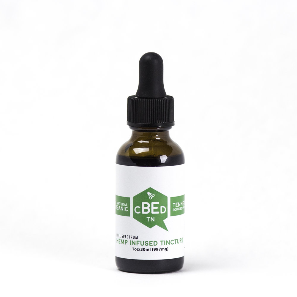1oz Hemp Infused Tincture - $90