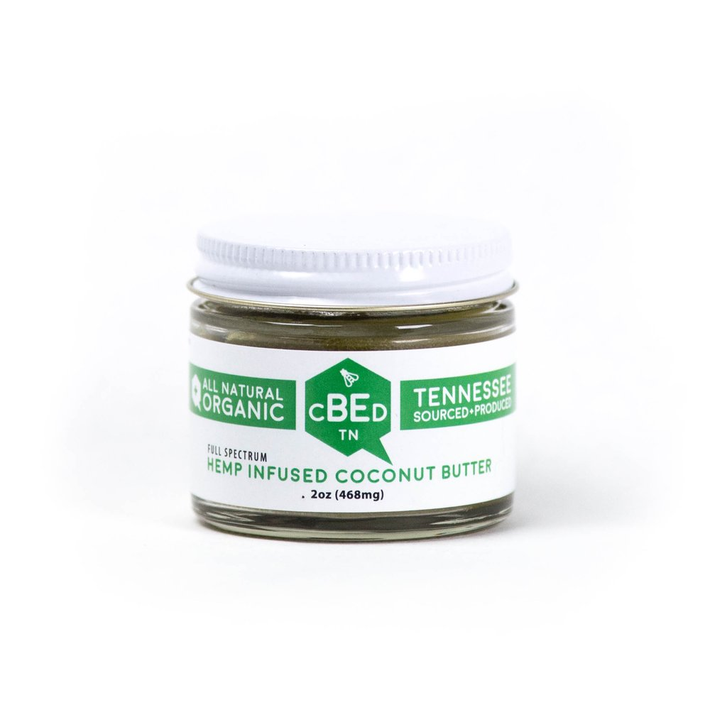 Hemp Infused Coconut Butter - $45