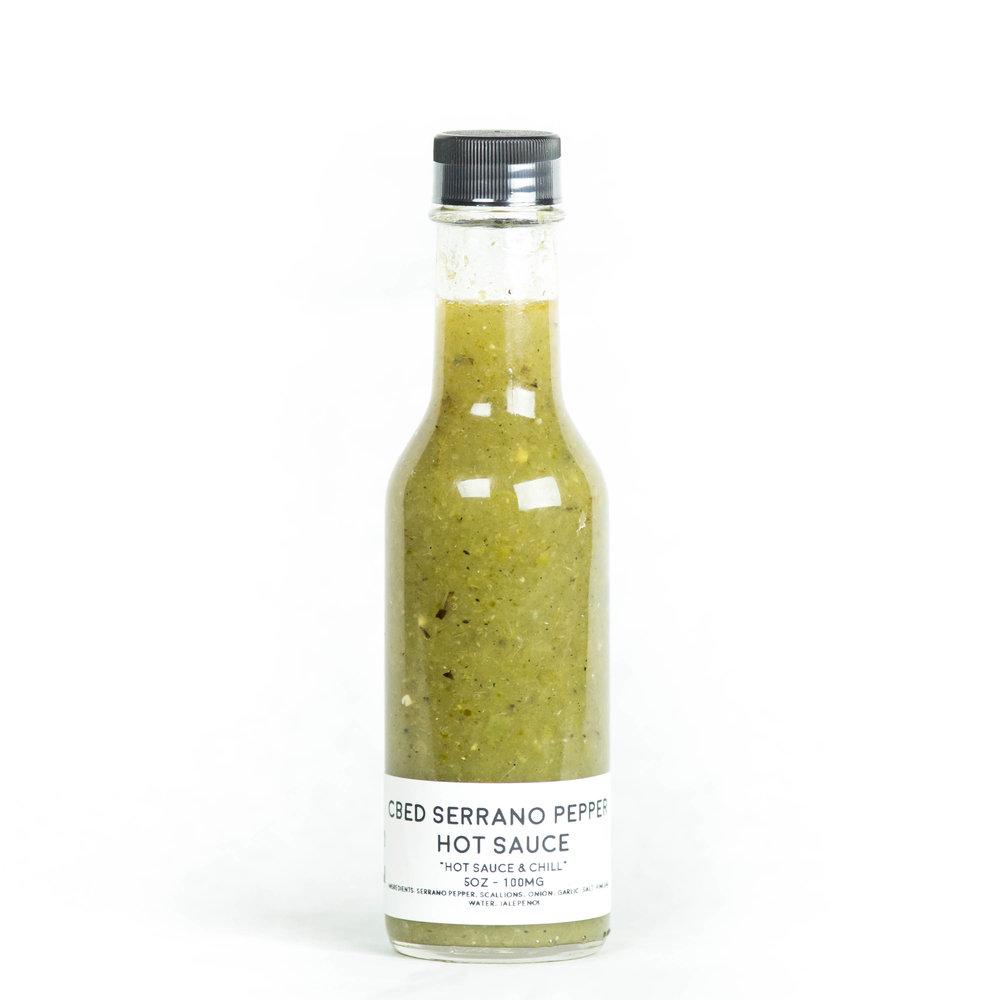 cBEd Serrano Hot Sauce - $12