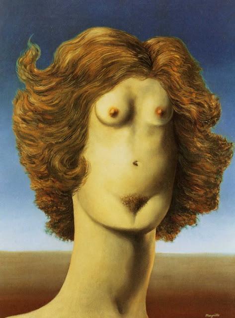 René Magritte,Le Viol, 1934