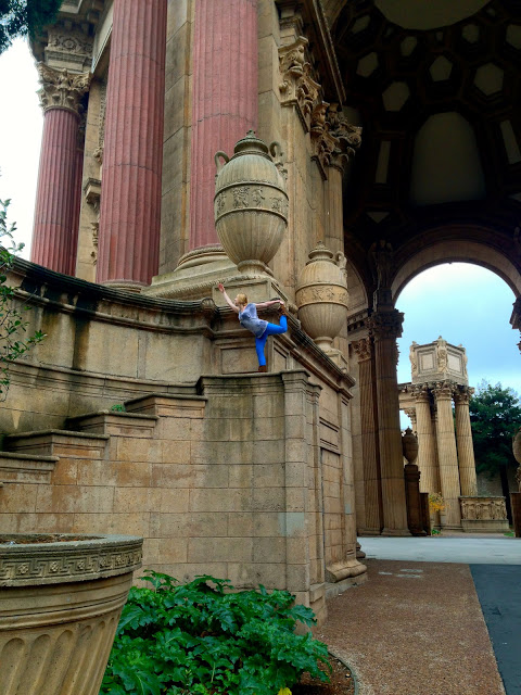 at the Palace of Fine Arts, SF