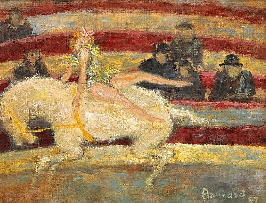 Pierre Bonnard,Circus Rider, 1894
